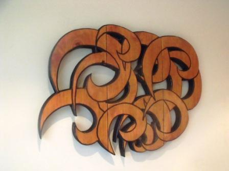 Curls Wall Art  $249