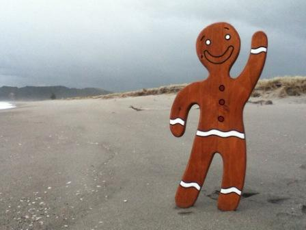Large Gingerbread Man II  $169