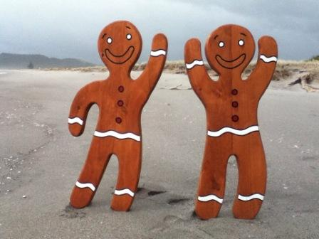 Gingerbread Pair - Large  $320