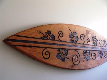 Attirant 1.75m Surfboard Wall Art $289