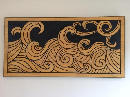 1.  Waves - Picture Art  $249